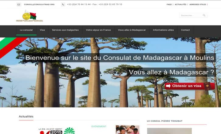 Consulat de Madagascar à Moulins