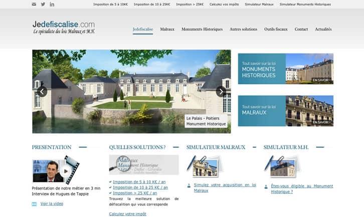 Jedefiscalise.com - Spécialiste des lois Malraux et Monuments Historiques