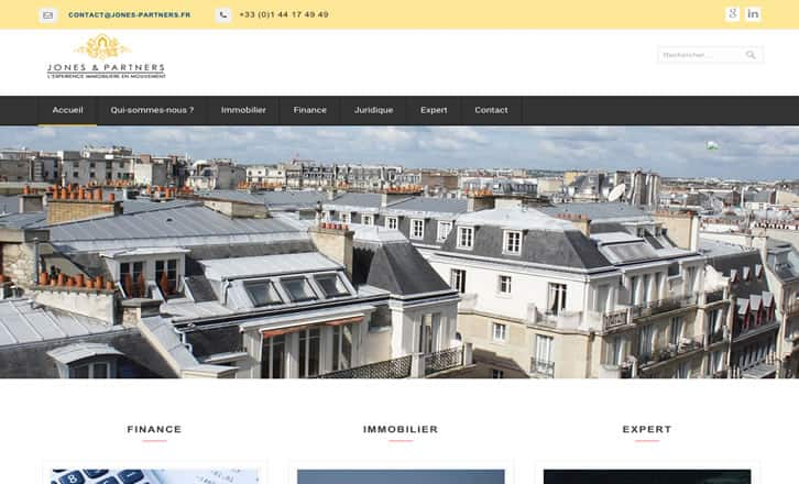Jones & Partners - Immobilier