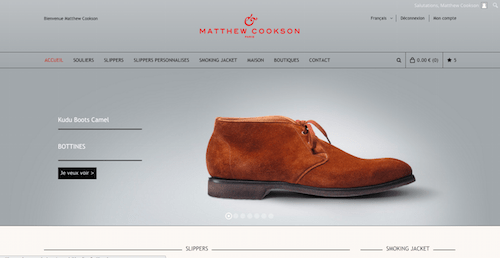 Matthew Cookson Boutique