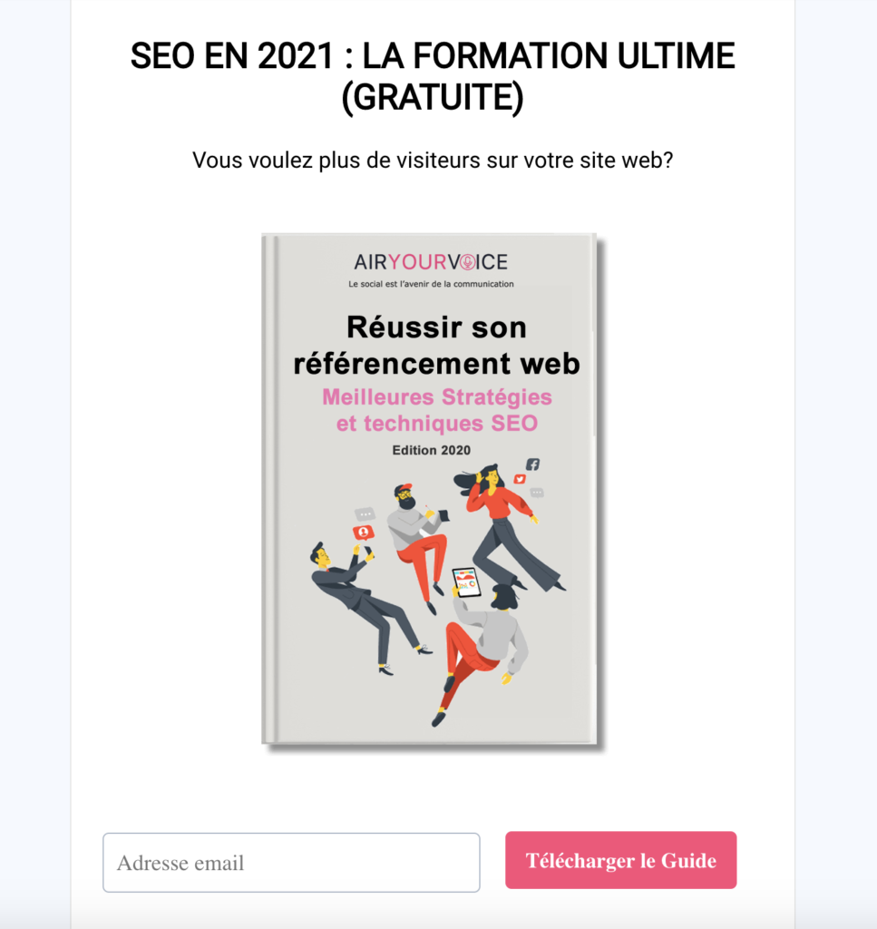 Referencement SEO ebook