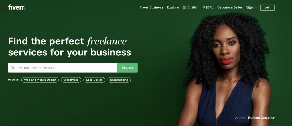 Fiverr Rechercher Freelance