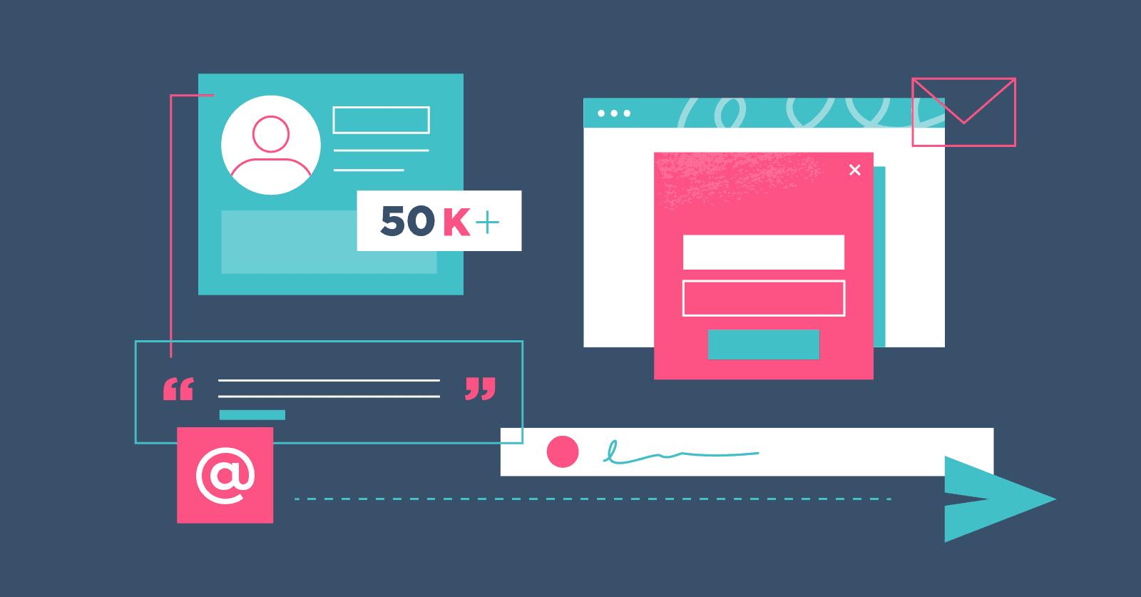Construire une liste email : Comment obtenir vos 100 premiers abonnés qualifiés à votre newsletter